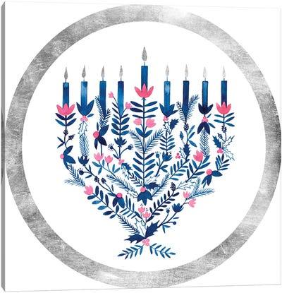 Boho Hanukkah Collection C Canvas Art Print