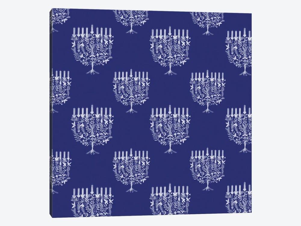 Boho Hanukkah Collection F by Grace Popp 1-piece Canvas Print