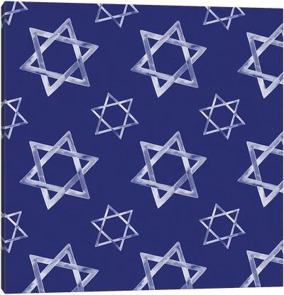 Boho Hanukkah Collection H Canvas Art Print