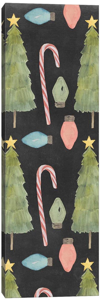 Christmas Glow Collection B Canvas Art Print