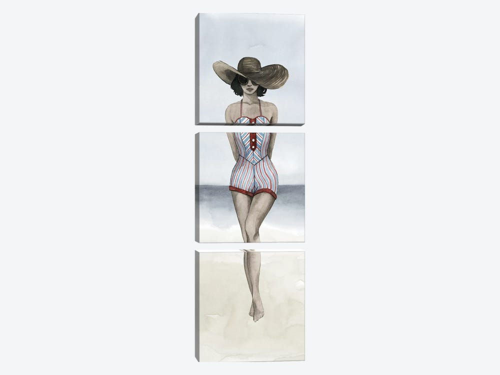 Beach Beauty III by Grace Popp 3-piece Canvas Artwork