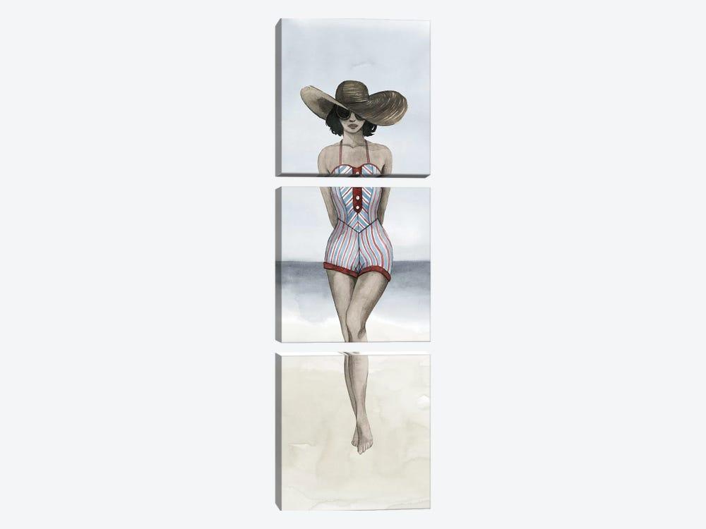 Beach Beauty III by Grace Popp 3-piece Canvas Artwork