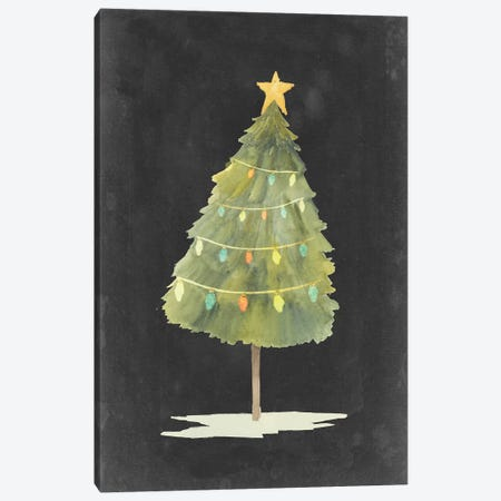 Christmas Glow I Canvas Print #POP1642} by Grace Popp Canvas Art Print