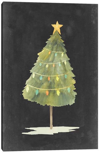 Christmas Glow I Canvas Art Print