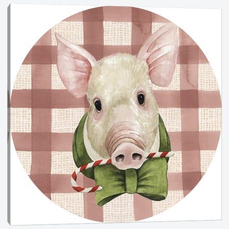 Christmas on the Farm Collection E Canvas Print #POP1650} by Grace Popp Canvas Art