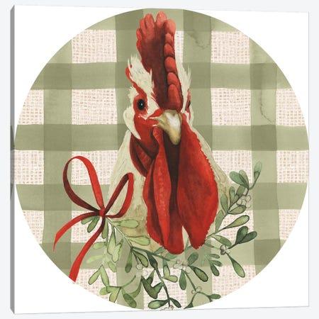 Christmas on the Farm Collection F Canvas Print #POP1651} by Grace Popp Canvas Wall Art