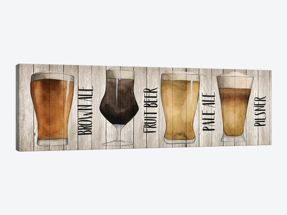 Beer Chart I by Grace Popp 1-piece Canvas Wall Art