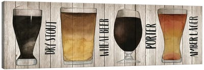 Beer Chart II Canvas Art Print