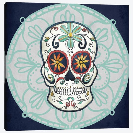 Day of the Dead Collection A Canvas Print #POP1681} by Grace Popp Canvas Art Print