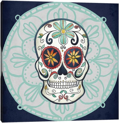 Day of the Dead Collection A Canvas Art Print
