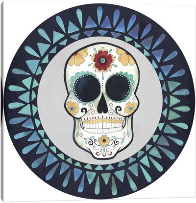Day of the Dead Collection E Canvas Art Print