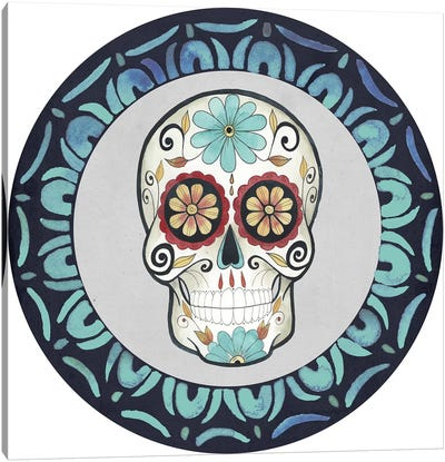 Day of the Dead Collection F Canvas Art Print