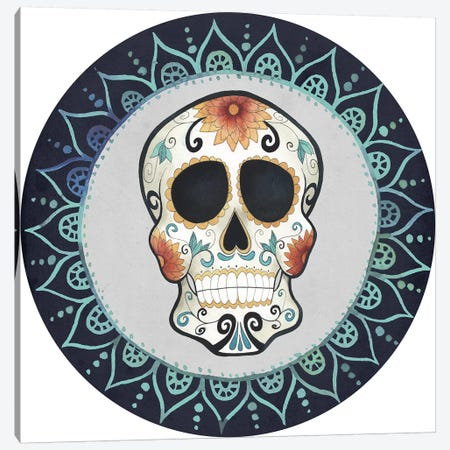 Day of the Dead Collection G Canvas Print #POP1684} by Grace Popp Canvas Art