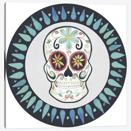 Day of the Dead Collection H Canvas Print #POP1685} by Grace Popp Canvas Artwork