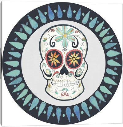 Day of the Dead Collection H Canvas Art Print