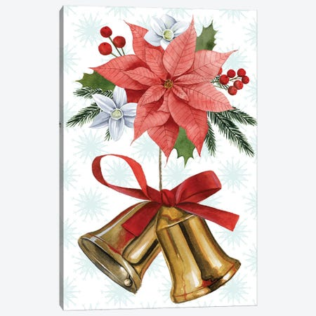 Deer Christmas Collection B Canvas Print #POP1687} by Grace Popp Canvas Art