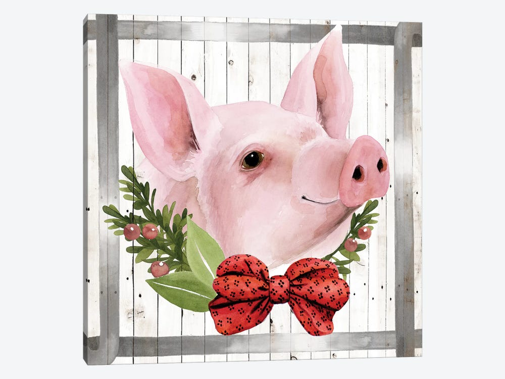 Festive Farm Collection F by Grace Popp 1-piece Art Print