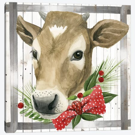 Festive Farm Collection H Canvas Print #POP1703} by Grace Popp Canvas Wall Art