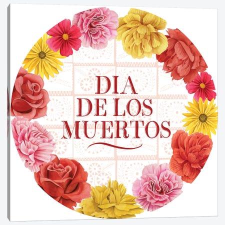 Fiesta de la Vida Muertos Collection C Canvas Print #POP1706} by Grace Popp Canvas Print