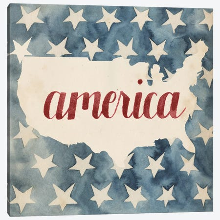 Fourth of July Collection A Canvas Print #POP1717} by Grace Popp Canvas Art