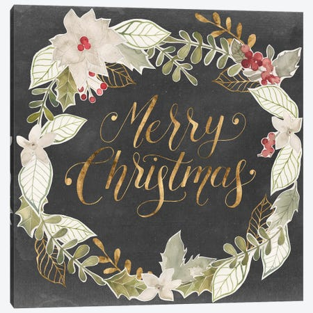 Gilded Christmas I Canvas Print #POP1723} by Grace Popp Canvas Art