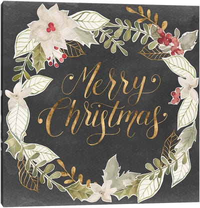 Gilded Christmas I Canvas Art Print
