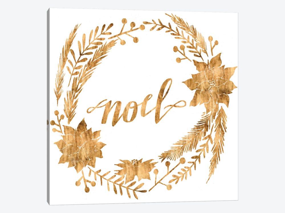Golden Christmas IV by Grace Popp 1-piece Art Print
