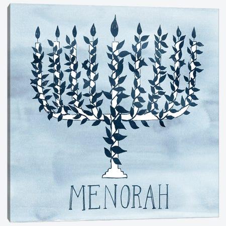 Happy Hanukkah Collection A Canvas Print #POP1731} by Grace Popp Canvas Print