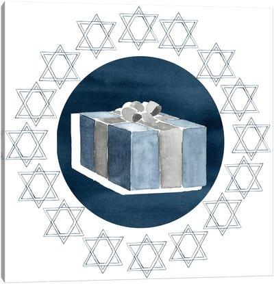 Happy Hanukkah Collection H Canvas Art Print