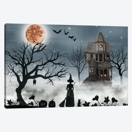 Harvest Moon Collection A Canvas Print #POP1737} by Grace Popp Canvas Art