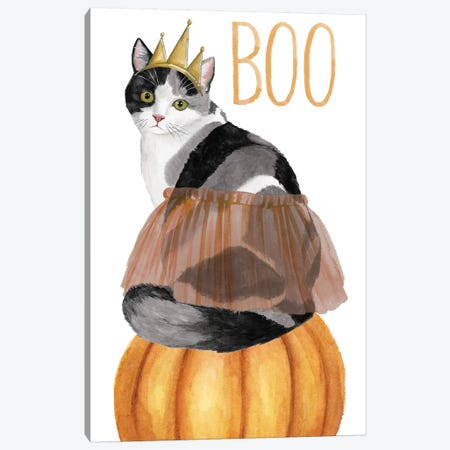 Howloween Collection B Canvas Print #POP1749} by Grace Popp Canvas Art