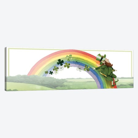 Leprechaun's Rainbow Collection D Canvas Print #POP1754} by Grace Popp Canvas Artwork