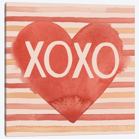 Modern Romance Collection A Canvas Print #POP1757} by Grace Popp Canvas Artwork