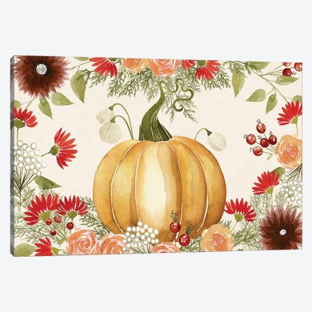 Red Autumn Collection A Canvas Print #POP1779} by Grace Popp Art Print