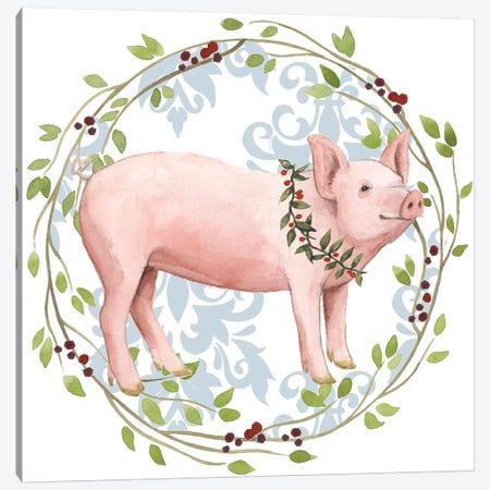 Santa's Farm Collection H Canvas Print #POP1795} by Grace Popp Canvas Artwork