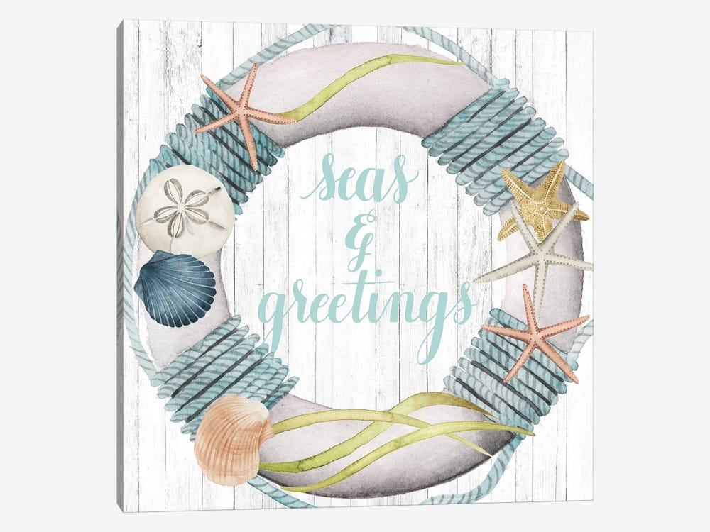 Seas & Greetings Collection A by Grace Popp 1-piece Art Print