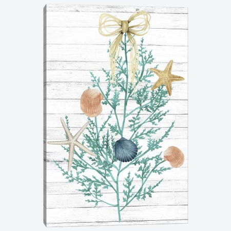 Seas & Greetings Collection B Canvas Print #POP1797} by Grace Popp Canvas Wall Art