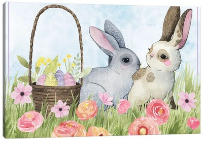 Somebunny Love Collection A Canvas Art Print