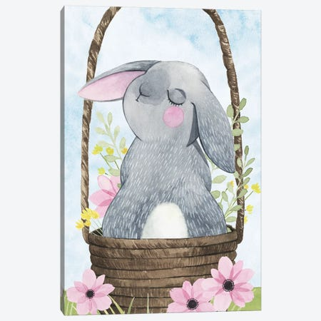 Somebunny Love Collection B Canvas Print #POP1800} by Grace Popp Canvas Print