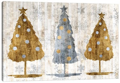 Sophisticated Christmas Collection A Canvas Art Print