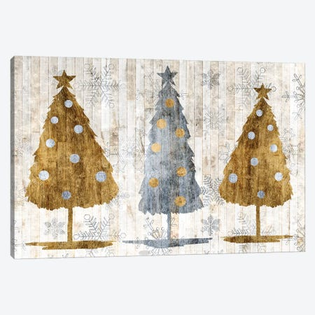Sophisticated Christmas Collection A Canvas Print #POP1801} by Grace Popp Canvas Print