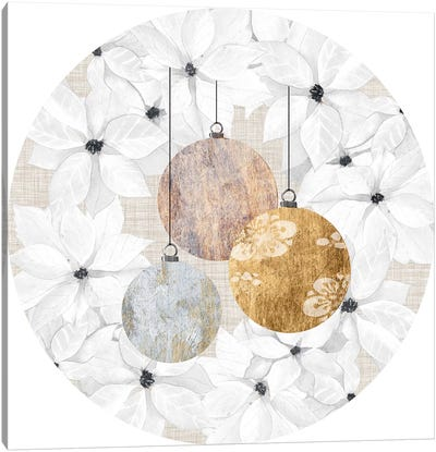 Sophisticated Christmas Collection C Canvas Art Print