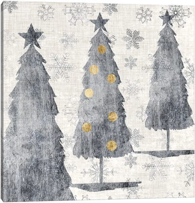 Sophisticated Christmas Collection G Canvas Art Print