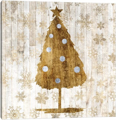 Sophisticated Christmas I Canvas Art Print