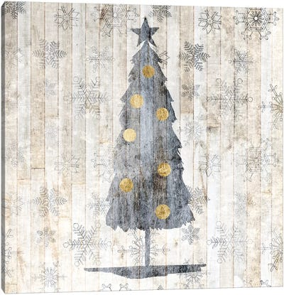 Sophisticated Christmas II Canvas Art Print