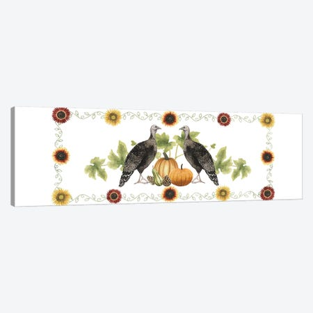 Sunflower Harvest Collection D Canvas Print #POP1816} by Grace Popp Canvas Art Print