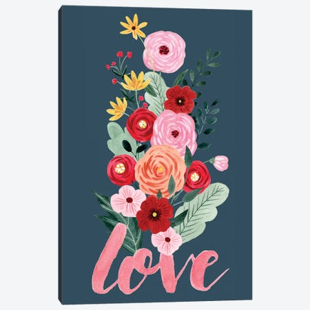 Sweet Hearts Collection B Canvas Print #POP1822} by Grace Popp Canvas Print