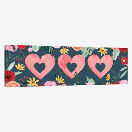 Sweet Hearts Collection D Canvas Print #POP1823} by Grace Popp Canvas Print