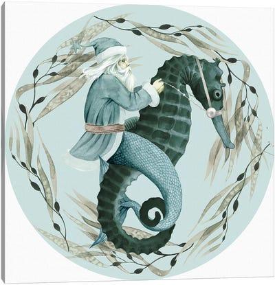 The Sea Santa Collection C Canvas Art Print