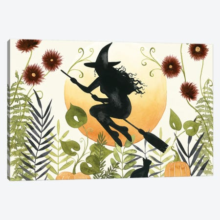 The Witch's Garden I Canvas Print #POP1840} by Grace Popp Canvas Art Print